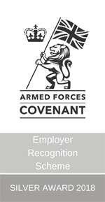 Employer Recognition Scheme Silver Award 2018