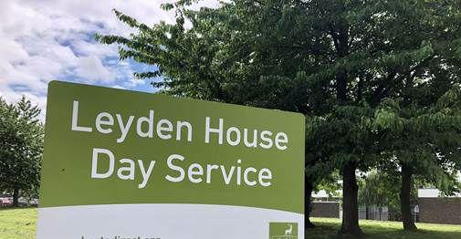 Outside Leydon House Day Service