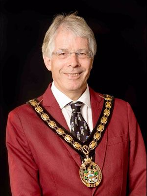 Jim Brown - Mayor of Stevenage 2020