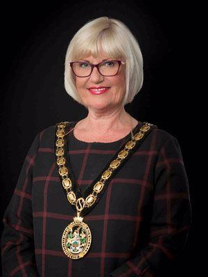 Sandra Barr Stevenage Mayor 2021/22