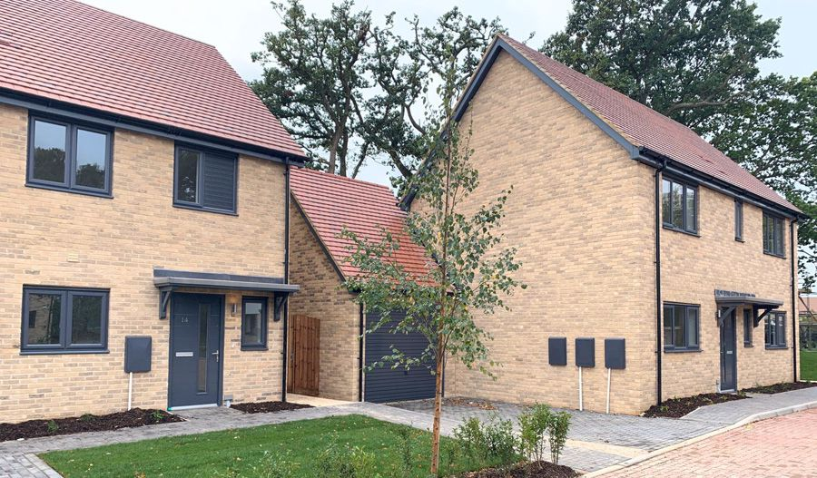 Blackwell Close completed apartments