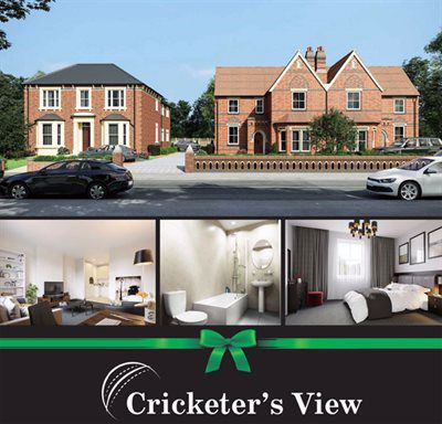 Artists impression of Cricketers View, Ditchmore Lane