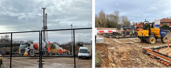 New building works at Kenilworth Close