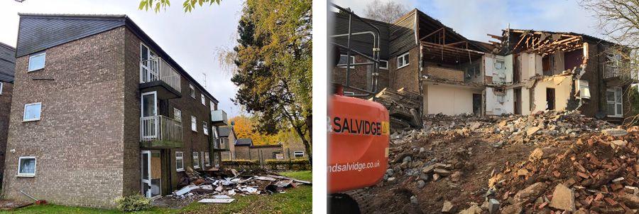 Demolition of Kenilworth Close