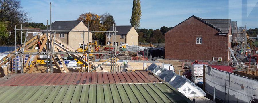 Vincent Court under construction