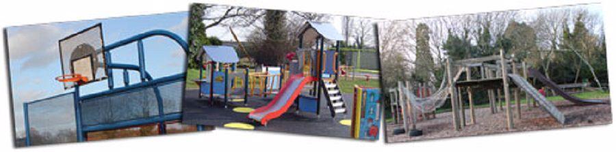 Hampson Park play equipment