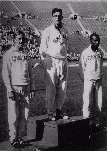 Thomas Hampson at the 1932 Olympics
