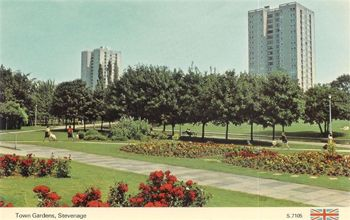 Town Gardens in the 60s