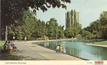 Town Gardens in the 70s