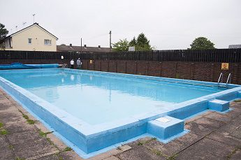 Swimming pool at Barnwell School