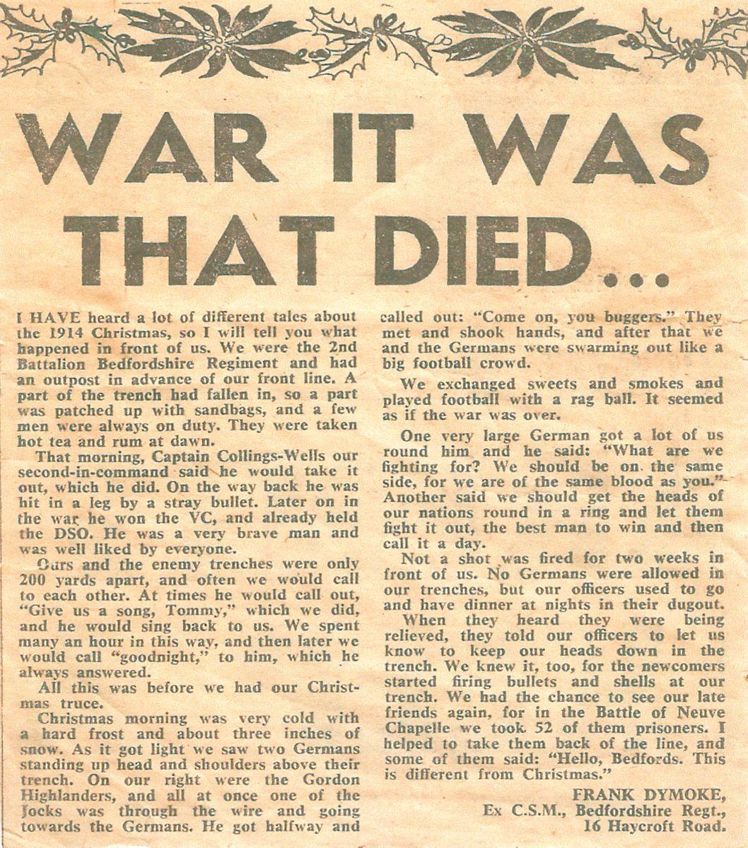 Comet News article 1971