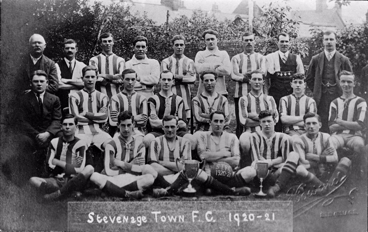 Stevenage Town Football club 1920-21