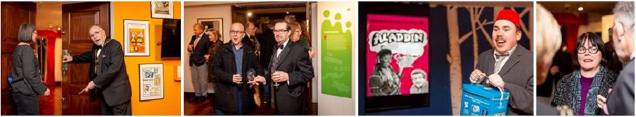 Pictures from the Exhibition opening