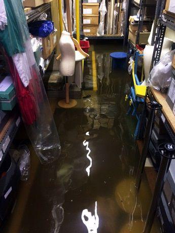 Store flood