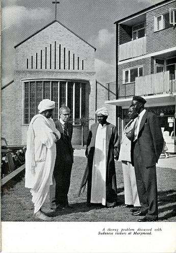 Sudanese visitors at Marymead
