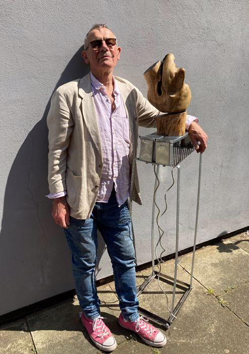 Hugh Tessier and exhibition piece
