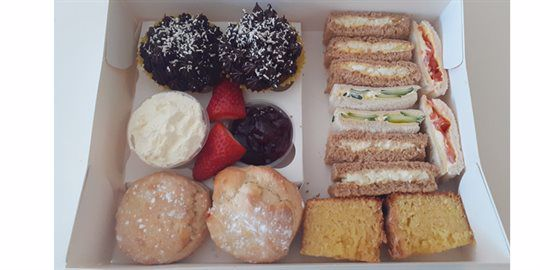 Sandwiches, Scones and Cakes