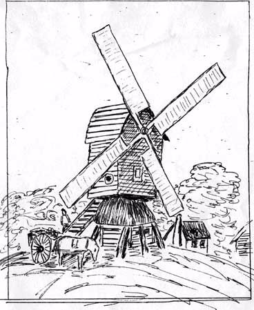 Sketch of Corey's Mill