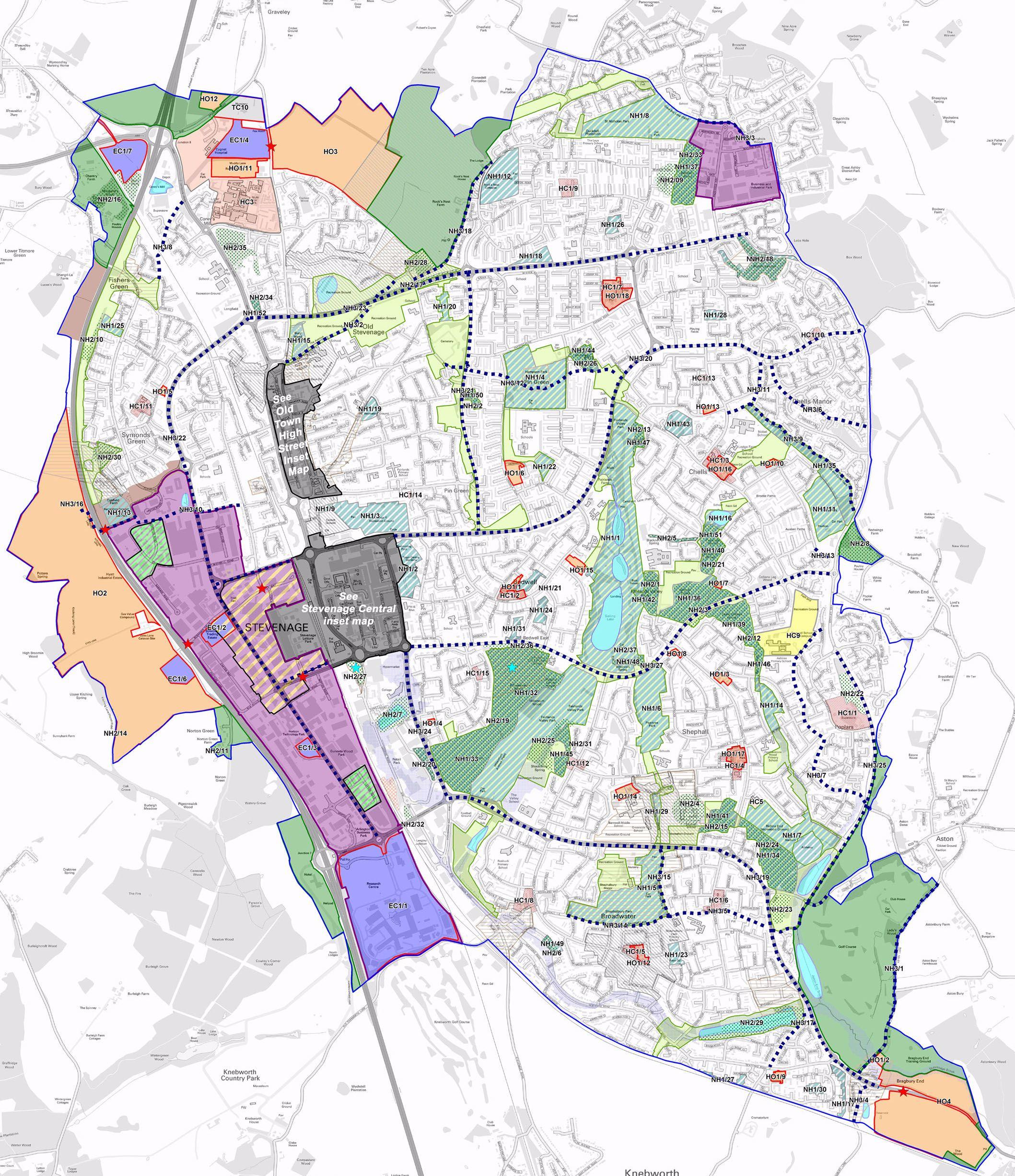 Local Plan Proposals Map 2016