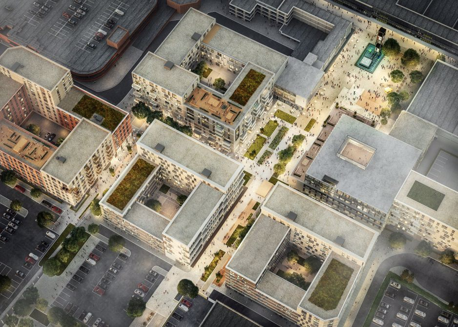 New Town Centre Aerial View