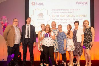 Tpas – The Richard Crossley Excellence In Community Action Award- SADA Winners for the National Award